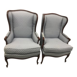 Thomasville Wingback Chairs - A Pair