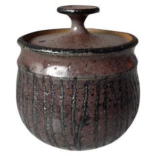 Mid-Century Studio Pottery Vessel by Don Johns