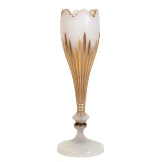 French Art Nouveau Opaline Vase