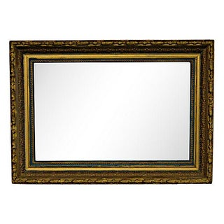 Rectangular Gilt Mirror