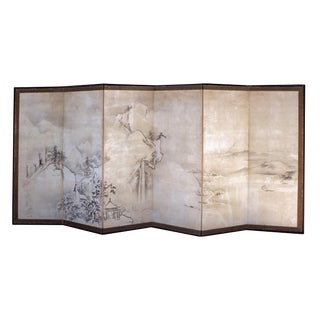 Chic Large Japanese Screen