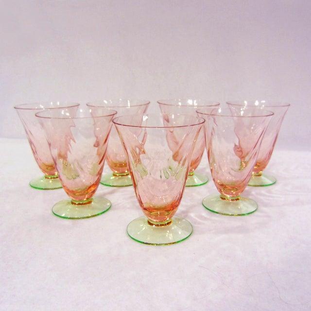 Optic Juice Glasses - Set of 7 - Image 5 of 5