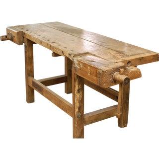 Vintage Carpenter's Table