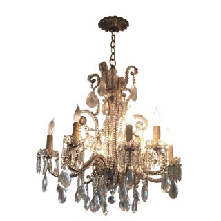 Vintage Shabby Chic Chandelier