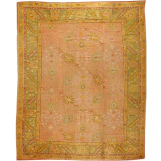 Exceptional Antique Oushak Carpet