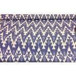 Image of Royal Blue Ikat Fabric- 40 Yards