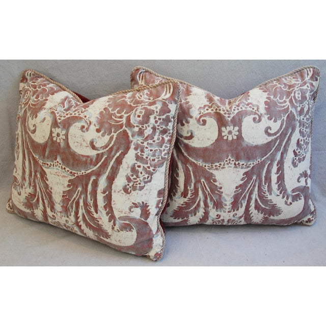 Mariano Fortuny Glicine & Mohair Pillows - A Pair - Image 9 of 10