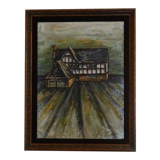Original Richard Deutsch Oil Painting