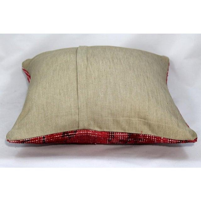 Turkish Handmade Kilim Pillow - Image 5 of 6