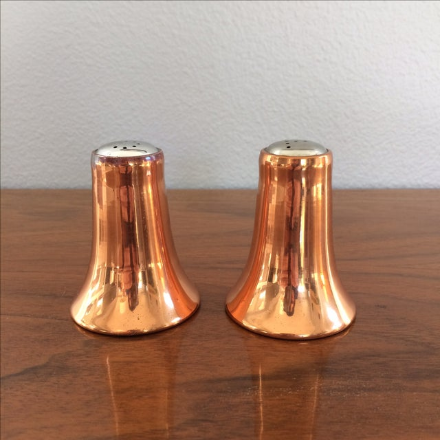 Copper Salt and Pepper Shakers - A Pair - Image 2 of 10