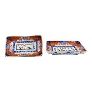 Imari Porceain Trays - Set of 2