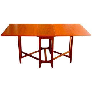 Drop-Leaf Table by Bendt Winge for Kleppes Møbelfabrik