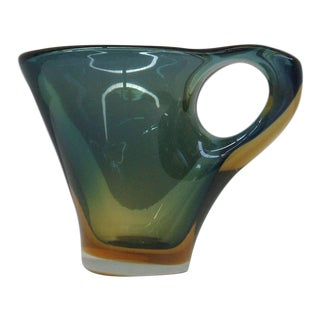 Fulvio Bianconi Murano Glass Pitcher