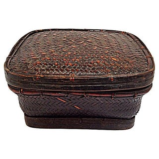 Ifugao Tribe Grain Basket