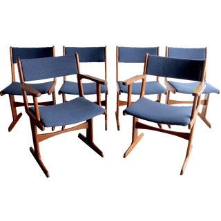 Nakashima Conoid Style Dining Chairs - Set of 6