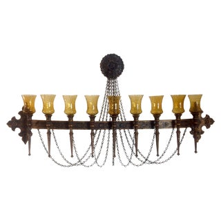 Vintage 1965 Gothic Wall Candelabra