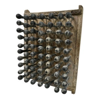 Antique Industrial Balloon Mold Wall Art