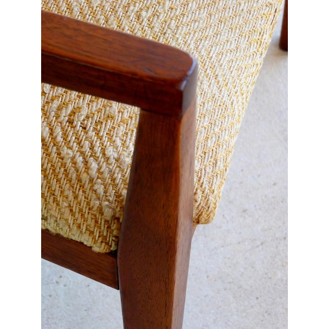 Dillingham Mid-Century Walnut Dining Chairs - Set of 6 - Image 9 of 9
