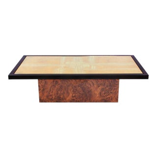 Maho Brass Etched Coffee Table