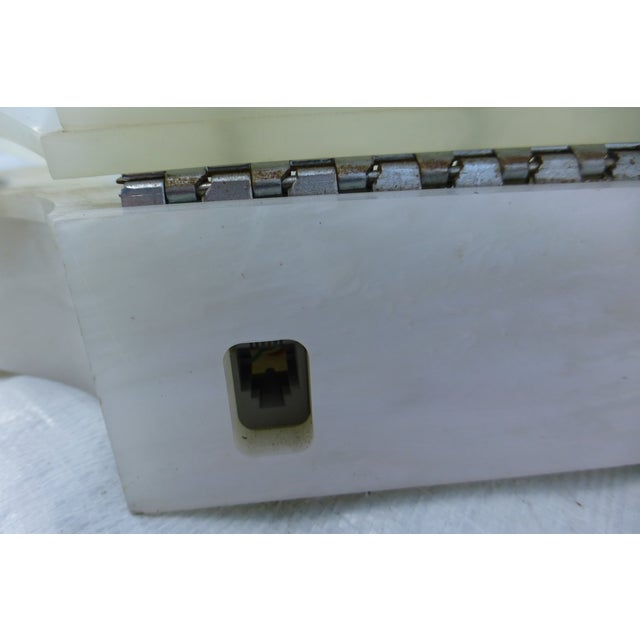 Vintage White Clamshell Telephone - Image 7 of 11