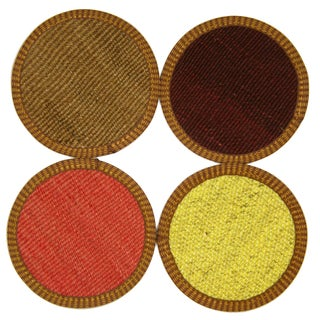 Gaziantep Kilim Coasters - Set of 4