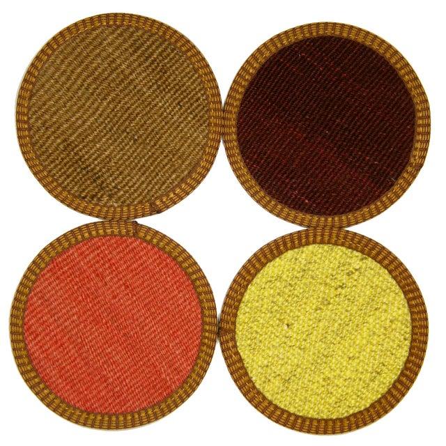 Image of Gaziantep Kilim Coasters - Set of 4