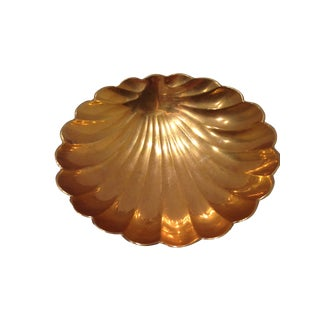Brass Shell Shaped Dish