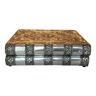Silver Metal Jewelry Box