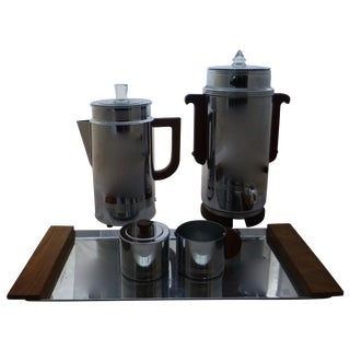 Art Deco Manning Bowman Coffee Set - Set of 5