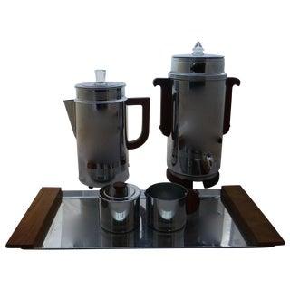 Art Deco Manning Bowman Coffee Set - Set of 5