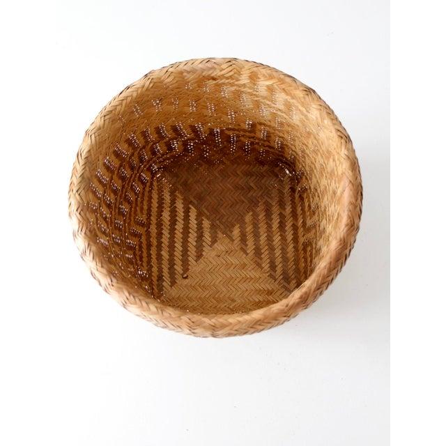 Vintage Indonesian Basket - Image 6 of 9