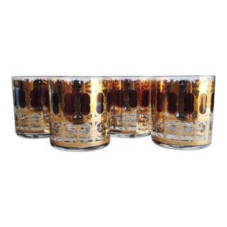 Vintage Culver Rocks Glasses - Set of 4
