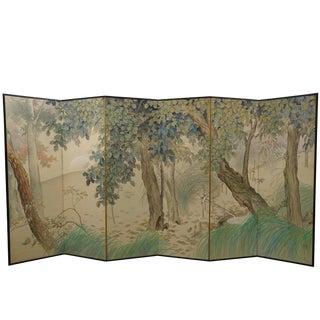 Japanese six fold screen