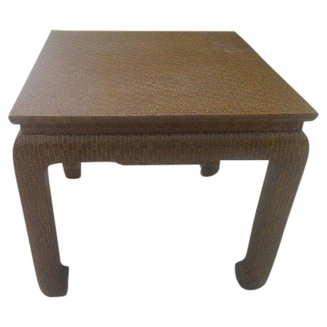 Vintage Baker Furniture End Table Chairish