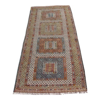 Vintage Anatolian Turkish Kilim Runner - 2′10″ × 7′