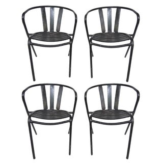 Vintage Tolix Garden Chairs - Set of 4