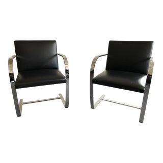 Casino Licensed, Mies Van De Rohe, Brno Chairs - A Pair