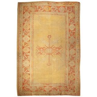 19th Century Oushak Rug