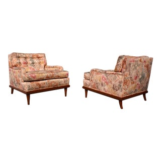 Robsjohn Gibbings Style Club Chairs - A Pair