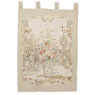 Chinese Aubussson Wall Hanging Tapestry