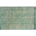 "Image of Green Turkish Overdyed Rug - 5'5"" X 8'3"""