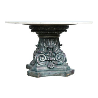 Cast Lavendar Base Table