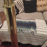 Image of Vintage Glam Arco Style Brass Lamp