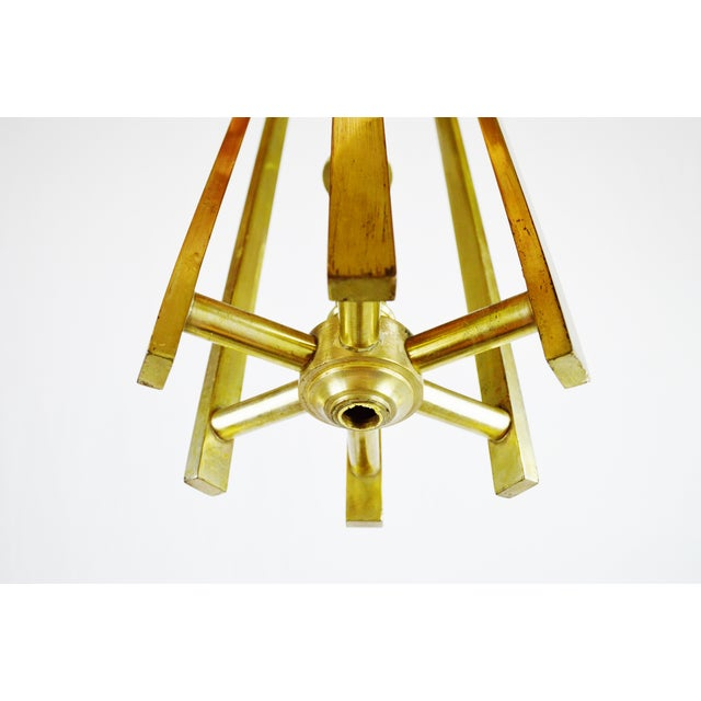 Chandelier body light collections light ideas art deco brass chandelier body chairish art deco brass chandelier body image 9 of 11 audiocablefo aloadofball Image collections