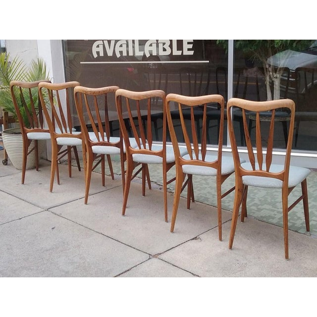 Koefoeds Hornslet Ingrid Dining Chairs - Set of 6 - Image 5 of 7