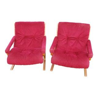 Ingmar Relling for Westnofa Siesta Chairs - Pair