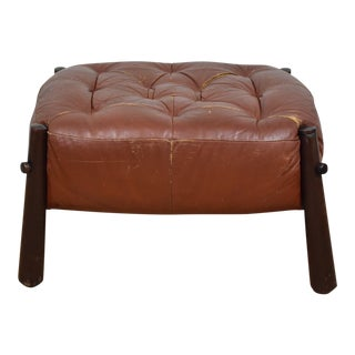 Percival Lafer Leather Ottoman