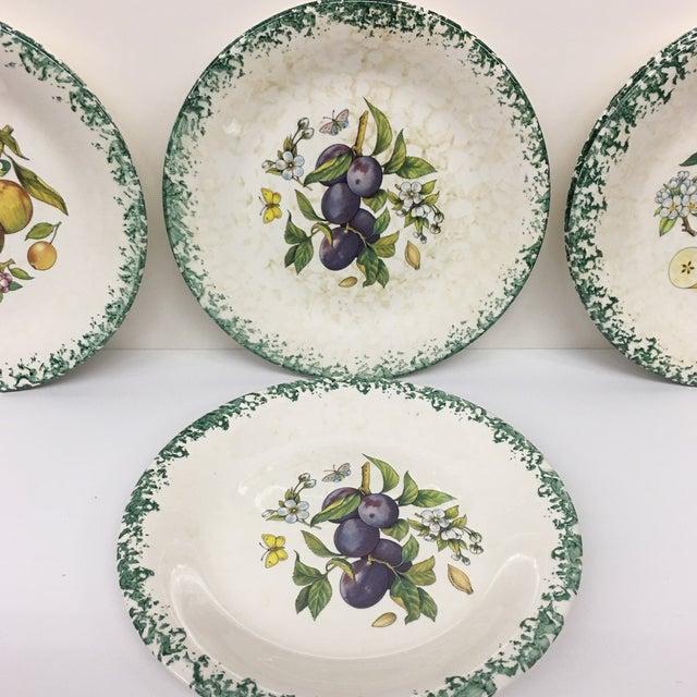 Italian Tre Ci Fruit Plates - Set of 6 - Image 6 of 11