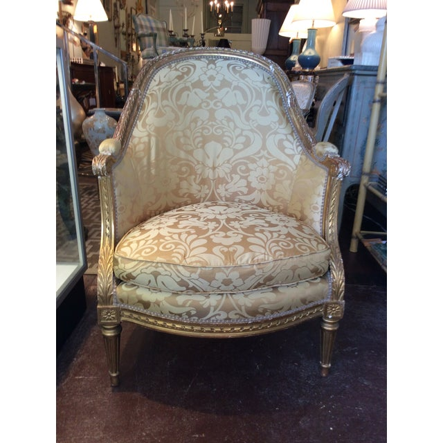 19th Century Antique Giltwood Chairs - Pair - Image 2 of 5