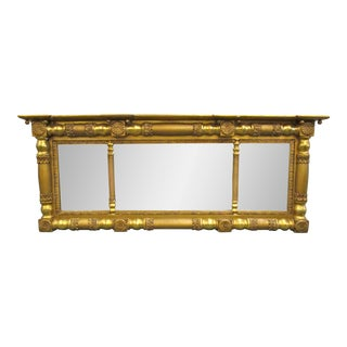 Giltwood Overmantle Mirror